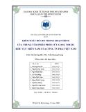 Tiểu luận:Kiểm soat rủi ro trong hoạt động của trung tâm phân phối Cửu Long thuộc khu vực miền Nam của Công ty P&G Việt Nam