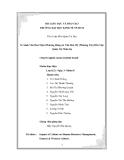 Tiểu luận:So Sánh Văn Hoá Nhật (Phương Đông) & Văn Hoá Mỹ (Phương Tây) Đến Việc Quản Trị Nhân Sự