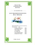 Tiểu luận:Thiết kế tiệc tại Tiệc cưới Minh Châu