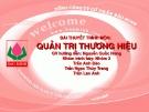 Tiểu luận:Xây dựng kế hoạch phát triển thương hiệu Bảo Minh