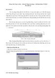 Hướng dẫn thực hành tính toán nền móng bằng phần mềm Plaxis 8.6