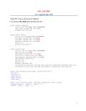 Bài tập PHP-Nguyễn Hữu Thế