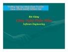 Bài giảng: Công Nghệ Phần Mềm- Software Engineering