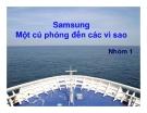 Samsung Một cú phóng đến các vì sao
