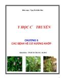 Y học cổ truyền: Chương 8 - Các bệnh về cơ xương khớp - Nguyễn Khắc Thái Bảo