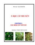 Y học cổ truyền: Chương 9 - Các bệnh về thời tiết - Nguyễn Khắc Bảo