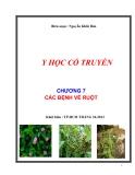 Y học cổ truyền: Chương 7 - Các bệnh về ruột - Nguyễn Khắc Thái Bảo