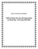 Tiểu luận: Thiết kế thực đơn cho nhà hàng nhóm tự thành lập : nhà hàng Mắt Biển