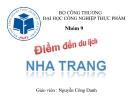 Điểm đến du lịch Nha Trang