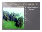 Bài thuyết trình về dịch vụ du lịch ở Hạ Long