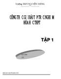 Công thức giải bài tập trắc nghiệm hóa học THPT (Tập 1)