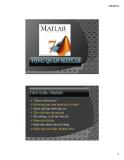 Tổng quan Matlab