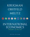 International EconomicsTheory & Policy