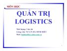 Môn học: Quản trị Logistics