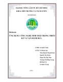 Bài báo cáo: Ứng dụng công nghệ sinh thái trong thiết kế và vận hành bãi chôn lấp
