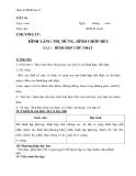 Giáo án chương 4 bài 1: Hình hộp chữ nhật – Hình học 8