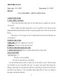 Giáo án Ngữ văn 6 bài 29 bài: Cầu Long Biên - Chứng nhân lịch sử