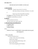 Chương trình HK2 Ngữ văn lớp 6: Ôn tập Văn miêu tả