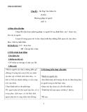 Giáo án Ngữ văn 6 bài 28: Ôn tập văn miêu tả