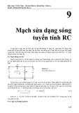 Kỹ thuật điện tử - Mạch sửa dạng sóng tuyến tính RC - Võ Kỳ Châu