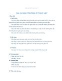 Giáo án Sinh học 11 bài 34: Sinh trưởng ở thực vật