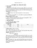 Giáo án bài 54: Sự trộn của ánh sáng màu - Vật lý 9 - GV.T.Chương