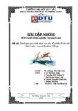 Bài tập nhóm: Đánh giá quy trình phục vụ của bộ phận lễ tân tại khách sạn Bamboo Village Beach Resort Spa