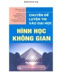 Chuyên đề luyện thi vào Đại học Hình học không gian - Trần Văn Hạo