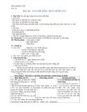 Giáo án Sinh học 11 bài 46: Cơ chế điều hòa sinh sản tuyển chọn nhất