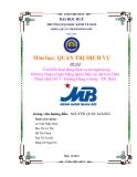 Tiểu luận:Tìm hiểu hoạt động dịch vụ tại ngân hàng Military Bank (Ngân Hàng Quân Đội) tại địa bàn Thừa Thiên Huế (Số 3 - Đường Hùng Vương - TP. Huế)