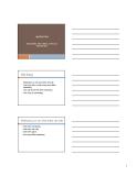 Chương 1: Marketing: Khái niêm, tiến trình, công cụ marketing