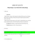 Giáo án Vật lý 9 bài 59: Năng lượng và sự chuyển hóa năng lượng