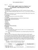 Giáo án Sinh học 11 bài 47: Điều khiển sinh sản ở động vật và sinh đẻ có KH ở người