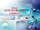 Quá trình thiết bị truyền khối - Trích ly