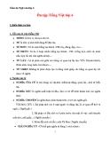 Giáo án Ngữ văn lớp 6 bài 34: Tổng kết phần Tiếng Việt