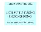 Lịch sử tư tưởng phương Đông - TS Trương Văn Chung