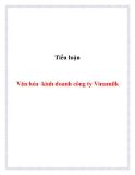 Tiểu luận:  Văn hóa kinh doanh công ty Vinamilk