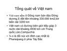 Tổng quát về Việt Nam