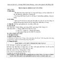 Giáo án Vật lý 8 bài 14: Định luật về công