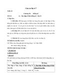 Giáo án Đại số 7 chương 3 bài 1:Thu thập số liệu thống kê, tần số