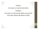 Chương 5: Ứng dụng lý thuyết hệ thống xã hội