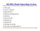 Hệ Điều Hành-Operating System