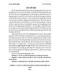 Luận văn: Nợ xấu và xử lí nợ xấu tại ngân hàng TMCP Quốc tế VIB