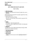 Giáo án Ngữ văn 7 bài 23: Đức tính giản dị của Bác Hồ