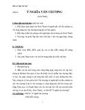 Giáo án Ngữ văn 7 bài 24: Ý nghĩa văn chương
