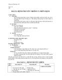 Giáo án Sinh học 10 bài 32: Bệnh truyền nhiễm và miễn dịch