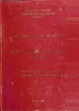 Luận văn: Từ điển câu thương mại Anh - Việt