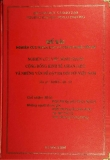 Luận văn: Nghiên cứu việc hình thành cộng đồng kinh tế Asean (AEC) và những vấn đề đặt ra đối với Việt Nam