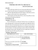 Giáo án Ngữ văn 7 bài 20: Tinh thần yêu nước của nhân dân ta
