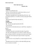 Giáo án Ngữ văn 7 bài 26: Sống chết mặc bay